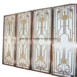 Construction Building Aluminium Dubai Divider Divider Screen Metal Work Project