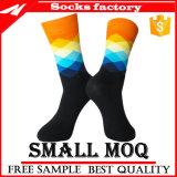 Socken-Hersteller-Großverkauf-kundenspezifische Mann-glückliche Kleid-Socken