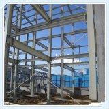 中国Q235 Q345の高力鉄骨フレームの構造