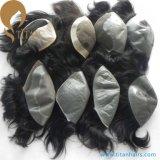 人のためのカスタム毛システム人間の毛髪の置換