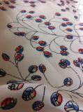 100%년 Polyester Crepe De Chin Printed 복장 직물