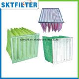 Grand filtre Pocket moyen de capacité d'avoirs de la poussière