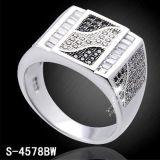 Prata 925 Hotsale do anel da jóia da forma micro