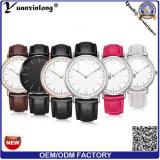 Yxl-592 Horloge van de Riem van het Leer van de mode het Modieuze, het Polshorloge van het Kwarts voor Vrouwen en Mannen