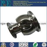 Pin feito à máquina e lustrado do CNC do aço inoxidável do OEM