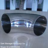 Acciaio inossidabile 304 tri curvatura igienica sanitaria del morsetto 316 3A