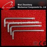 Qualitäts-legierter Stahl L-Typ Hex Allen-Schlüssel-Schlüssel mit Kugel-Ende