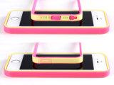 De Kleuren van het suikergoed met het Geval van de Telefoon van de Bescherming van de Stop van het Stof voor iPhone 5s/Se