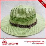 Sombrero de paja del papel derecho de la manera del color de la mezcla