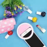 Lumière portative de boucle de Selfie pour tout le téléphone mobile aimable