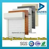 Personalizado rolling rolo porta do obturador perfil 6063 alumínio Extrusão de Alumínio Perfil
