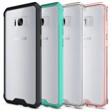 Caixa de cristal ultra magro do telefone de pilha para Samsung S8 mais