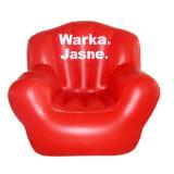 Rote Farbe Belüftung-aufblasbarer Sofa-Stuhl für Förderung