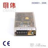 Haute qualité 5V 12V 24V 48V Alimentation 60W (S-60)
