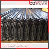 Hojas acanaladas galvanizadas del material para techos/placas de material para techos galvanizadas