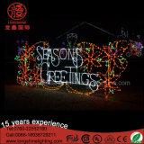 高品質のクリスマスシリーズ屋外のための大きいソックスのモチーフライト
