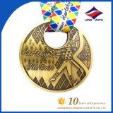 Medaglia su ordinazione del premio di sport della medaglia di esecuzione del International della medaglia di maratona del metallo