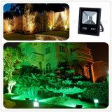 Luz de inundação Ultrathin ao ar livre impermeável do diodo emissor de luz do jardim 20W do projetor da fábrica IP67 AC85-265V