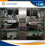 De geavanceerde Automatische Machine van de Etikettering van de Koker voor Plastic Flessen
