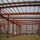 Estrutura pré-fabricada do frame de aço para o edifício da oficina