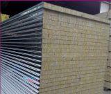 """Mur et toit de panneau """"sandwich"""" de laines de roche d'isolation thermique"""