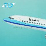 Ambacht van de Hars van het 1:100 B737-800 van het Vliegtuig van de passagier de Model