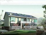 モジュラー軽い鉄骨構造のプレハブの家