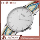 Relógio de pulso suíço automático de quartzo de Digitas do aço inoxidável