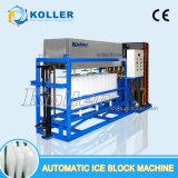 Máquina de bloqueio de gelo evaporado direto de 3 toneladas de Koller