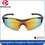 극화한 UV400 극지 글레어 색안경은 호환성이 있는 렌즈 야구 유리를 극화했다