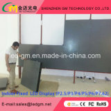 Binnen High-Definition LEIDENE van de Muur P2.5/P3/P3.91/P4/P4.81/P5/P6 van TV Vertoning