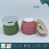 100gによって着色される装飾的なガラス瓶