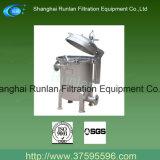 Schneller Öffnungs-Beutelfilter hergestellt in China