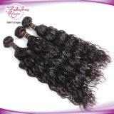 Vente en gros normale de cheveu de Vierge de Malaysian de la prolonge 100% de cheveu d'onde de mode
