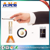 NFC programado libre disponible marca el pegamento con etiqueta permanente para la botella
