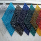 Sorteer een Polycarbonaat In reliëf gemaakt Plastic Blad van de Decoratie van het Comité Binnen