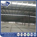 Magazzino del gruppo di lavoro della struttura d'acciaio di Dfx che costruisce multi piano