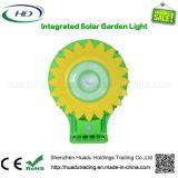 Tutti in un indicatore luminoso solare Integrated del giardino del girasole con il sensore di movimento