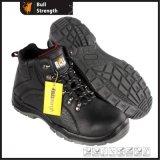 Schwarze Farben-echtes Leder-Sicherheits-Aufladung mit neuem Outsole (SN5501)