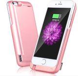 Paquete de baterías externas Power Bank Cargador caso cubierta para iPhone 6s