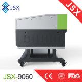 Segno acrilico del piccolo cuoio da tavolino del tessuto di Jsx9060 80W che fa la macchina del laser di CNC