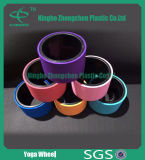 Factory Wholesale Eco-Friendly Colorful Yoga Exercise Wheel