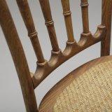 Klassische Höhen-Rückseiten-hölzerner speisender Stuhl in den Gaststätte Möbel-Projekten (C720-15)