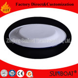 Plato de la empanada de la aplicación de cocina de los utensilios de cocina del vajilla de Sunboat 18cmenamel