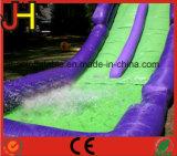 Neuer Entwurfs-aufblasbares doppeltes Weg-Wasser-Plättchen mit Pool für Kinder