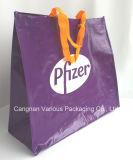 Saco de compra não tecido tecido PP do Tote, saco mais fresco, saco tecido, saco da lona, saco do algodão