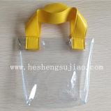 Caso precioso regalo de PVC con asas (YJ-B020)