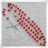 Медные крест цепи шарика/Rosary вспомогательного оборудования распятия/медный Rosary отбортовывают (IO-cr277)