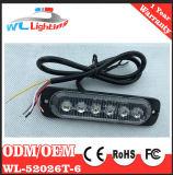 24V 6 LED Aufputzmontage Lighthead Warnleuchten-Lampe