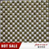 Mosaico di ceramica con la metallizzazione, oro Mosaicl di ceramica del piccolo chip